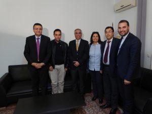 Meeting Chawki Gaddes, Hafeth Yahmadi, Wafa Dahmani, Hamza Ben Mehrez