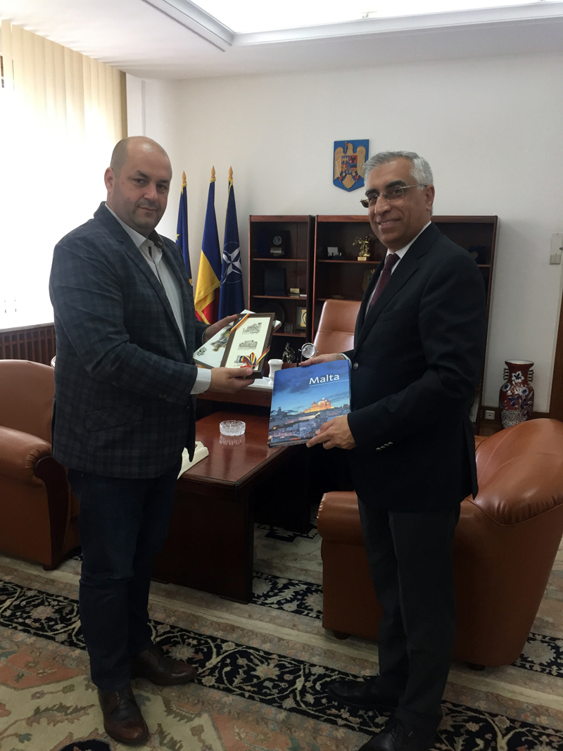 UN SRP Meeting with MP Dorel Gheorghe Caprar – Chairman of the Commission for Defense, Public Order and National Security of The Chamber of Deputies – 31st May 2017 @Bucharest, Romania
